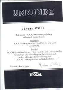 Autoryzacja TROCAL